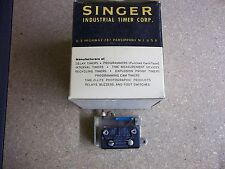Singer Indusatrial Timer TM-15 seconds 220 Volts 60 Cycl New Old Stock