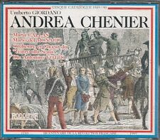 COFFRET 2 CD CLASSIQUE--UNBERTO GIORDANO--ANDREA CHENIER / ENREGISTREMENT 1955