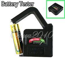 Testeur de piles batteries 1,5V 9V AA AAA LR14 LR03 LR06 LR20 LF22 PILE BOUTONS