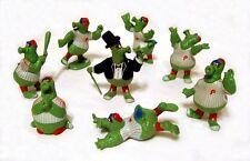 Philadelphia Phillies - Phanatic Figures - Complete Set - 1987 - RARE