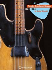 Fender Precision Basses Sheet Music 1951-1954 Guitar Hardcover NEW 000001348