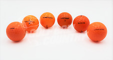24 Assorted Orange Mix Near Mint AAAA Used Golf Balls - FREE Shipping