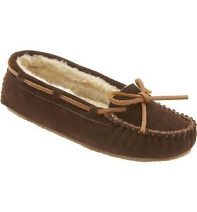 Minnetonka Moccasins 4011 & 4012 Cally - Pile Lined - Suede Slipper