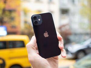BRAND NEW Apple iPhone 12 Mini 64GB Black Verizon 5G GSM Unlocked ORIGINAL BOX