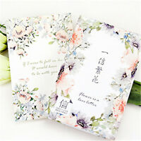 30 pcs/box elegant flowers creative cards greeting card postcards message card