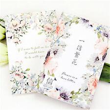 30 pcs/box elegant flowers creative cards greeting card postcards message card