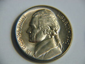 1940-D see steps detail Jefferson BU Nickel nice coin! #aa