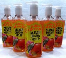 5 Mango Dragon Fruit Deep Cleansing Hand Soap Bath & Body Works 8 Oz