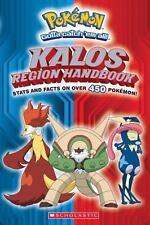Pokemon: Kalos Region Handbook by Inc. Staff Scholastic (2014, Paperback)