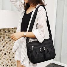 Women's Casual Multi Pocket Nylon Cross Body Shoulder Bag Messenger Bags Handbag