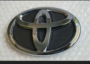 2009-2013 140MM BLACK CHROME FRONT GRILL EMBLEM BUMPER Fit for TOYOTA COROLLA