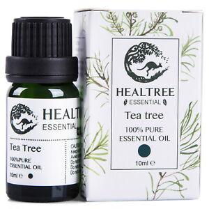HEALTREE  Tea Tree 100% Pure Essential Oil 10 ml Made in Australia