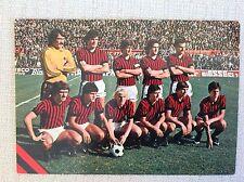 AC. MILAN CALCIO CARTOLINA SQUADRA 1978/79 ALBERTOSI RIVERA BURIANI NOVELLINO...