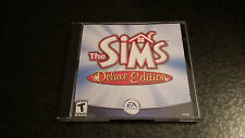 The Sims Deluxe Edition PC 2002 CD Rom
