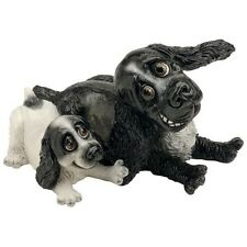 PETS WITH PERSONALITY 5511 COCKER SPANIEL AND PUP COLLECTABLE ORNAMENT