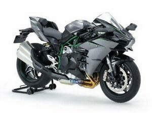 Tamiya 21169 1/12 Kawasaki Ninja H2 Carbon Masterwork Collection Finished Model