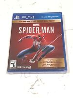 Spider-Man Game of the Year Edition DLC Included Sony PlayStation PS4 PS5 New