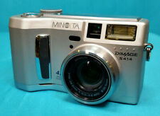Minolta Dimage S414 Digital Camera 4.0 Mega Pixels 4x Zoom Works *Read Info