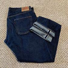 Denime Japan Selvedge Denim Jeans Blue Mens 38x33 Yoshiyuki Hayashi Osaka Five