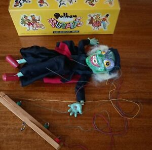 Pelham Puppet WICKED WITCH  boxed 1960's Collectible