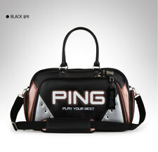 PING Golf Boston Bag Black White 18 Sporty GX Carry with shoulder belt Authentic