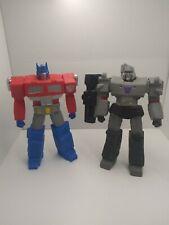 Transformers Hasbro Optimus Prime Megatron Titan warriors sdcc 2013 comic con