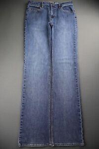 Vintage 2004 Women's Old Navy Jeans Boot Cut Low Waist Stretch Size 8L (30x33)