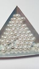 50 x Acrylic Pearl Beads - Round - 6mm [Various Colours/Mixes]