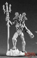 1 x DOMNU of the SLITHE - DARK HEAVEN LEGENDS REAPER miniature rpg trident 2219