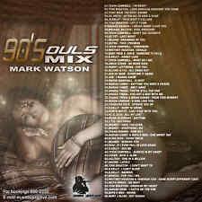 Mark Watson 90's Soul & R&B 'Da Real Ting' Mix CD