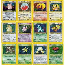 Cartes Pokémon à l'unité jungle