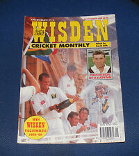 WISDEN CRICKET MONTHLY SEPTEMBER 1994 -CRUCIFIXION OF A CAPTAIN