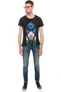 RRP €105 BRIAN DALES & LTB Jeans Size 28 Stretch Faded Effect Contrast Stitching