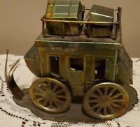 ABILENE, KANSAS Vintage Metal Carriage of Pioneers Settlers Immigrants *RARE*