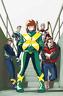 X-MEN BLUE #7 DAVID LOPEZ VARIANT MARVEL COMICS JEAN GREY CYCLOPS