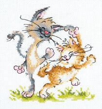 Cross Stitch Kit Let's Dance (Cats) art. 15-19