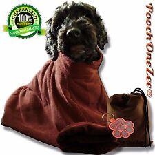 PoochOneZee® Dry Fast Microfibre Dog Bag Super Absorbent Pet Towelling Medium