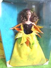 BARBIE SUNFLOWER VAN GOGH NRFB - new model doll collection Mattel