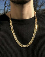 14k yellow gold 24 Inch Cuban Link Chain
