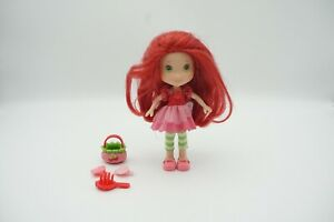 """Strawberry Shortcake Hasbro 6"""" Doll and Accessories Scented"""