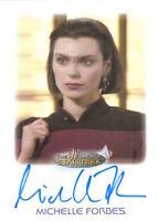 WOMEN OF STAR TREK 2010 - AUTOGRAPH Michelle Forbes as Ensign Ro Laren