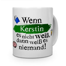 Tasse mit Namen Kerstin Motiv Lieblingsmensch