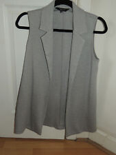 New Look Girls' Grey Long Waistcoat - Age 12-13 UK - in excellent condition