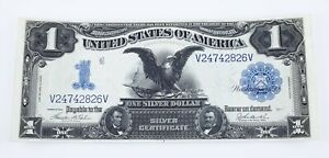 Series of 1899 Silver Certificate in Choice Uncirculated Condition