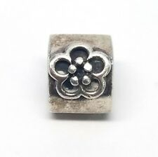 Authentic Pandora Sterling Silver Daisy Bead 790187 Retired 925 ALE