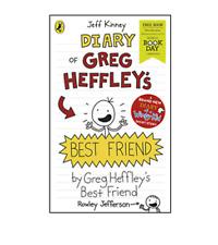 Diary of Greg Heffley's Best Friend Rowley By Jeff Kinney World Book Day 2019