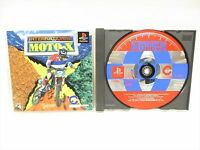 INTERNATIONAL MOTO X PS1 Playstation PS Japan Game p1