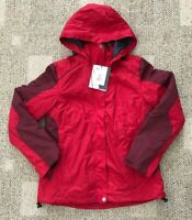 Arctix Women's Muse 3-in-1 Ski Jacket Coat Red Size Small S Warm Winter Hooded