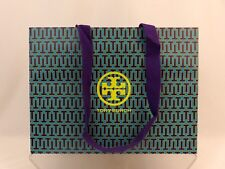 "NEW TORY BURCH MULTICOLOR PAPER SHOPPING GIFT BAG SMALL 12"" x 9"" x 5"""