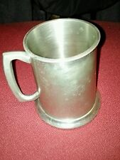 Leanard Eales of Sheefield Since 1779 ,English Pewter Dankard, Glass Botton UK